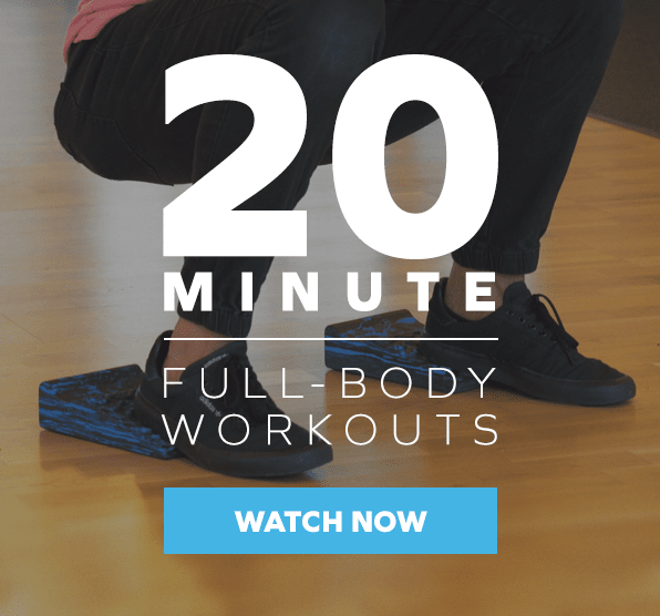 20-Minute Full-Body Workouts TR3S
