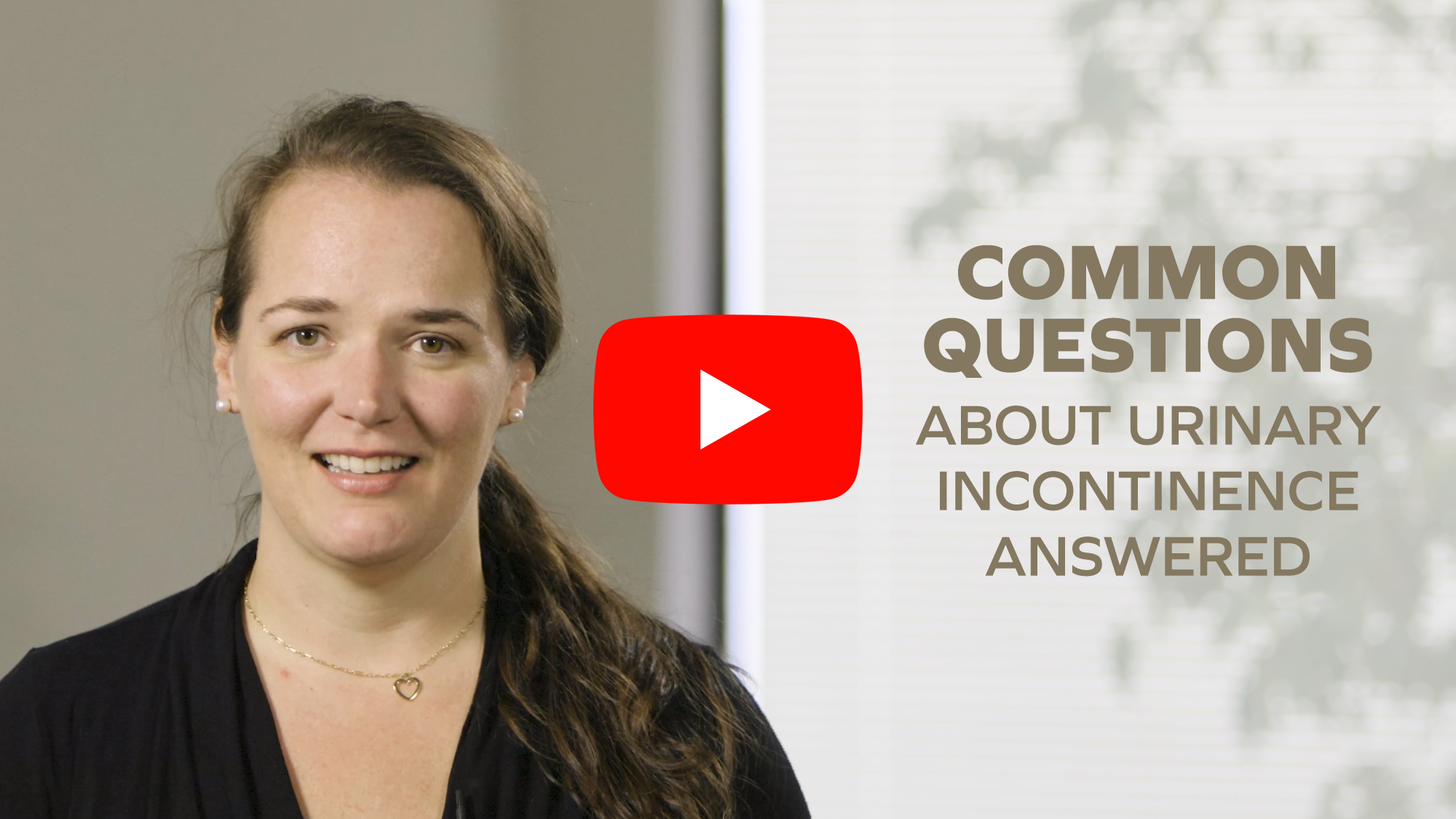 Common questions about urinary incontinence answered