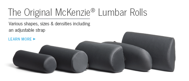The Original McKenzie Lumbar Rolls