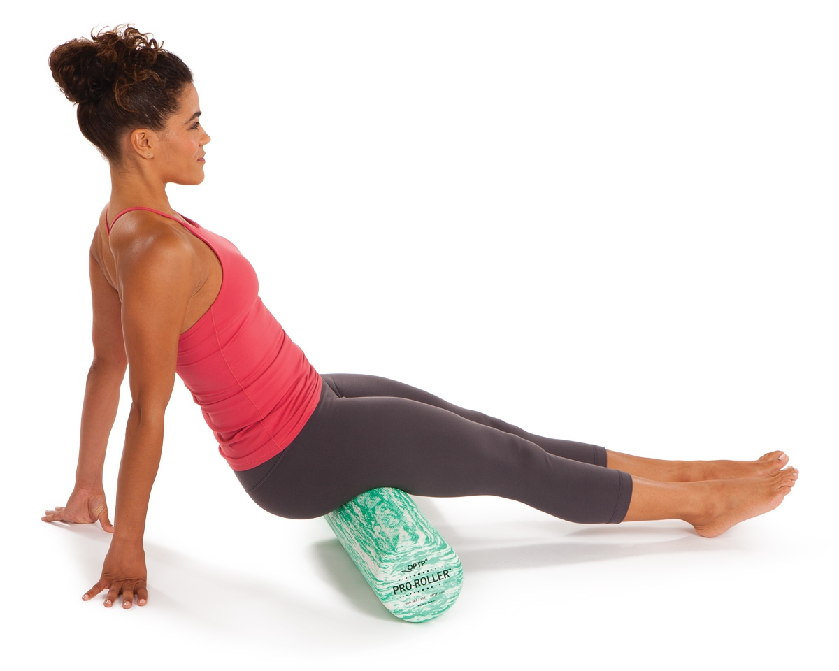Foam Roller Hamstring Exercise