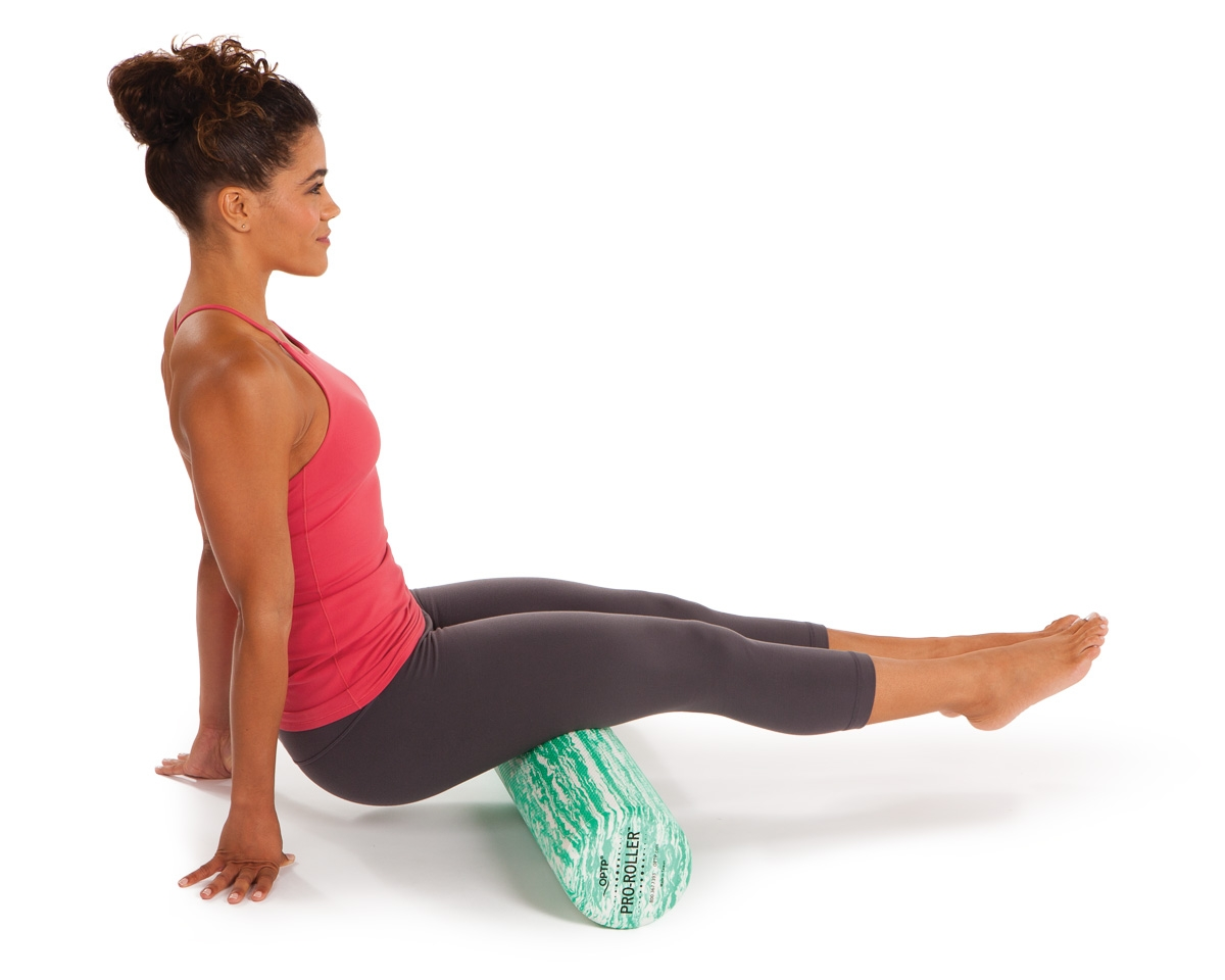 Foam Roller Hamstring Exercise 2