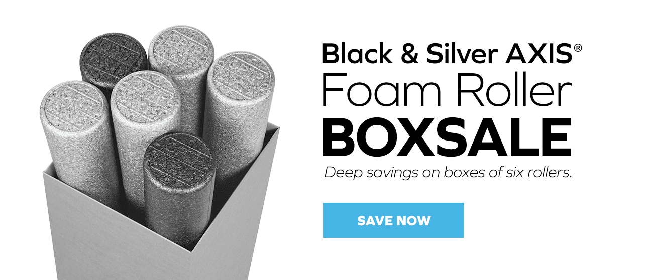AXIS Foam Roller Box Sale