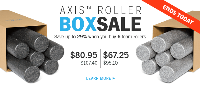 AXIS™ Roller Box Sale