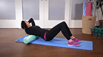 Upper Body Massage with a Foam Roller