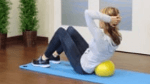 Core Exercises with the Soft Gym Overball