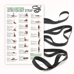 Stretch Out® Strap XL with Training & Conditioning Poster