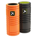 The Grid Foam Rollers Orange and Black