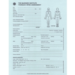 McKenzie Institute Thoracic Spine Assessment Form