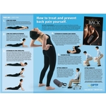 McKenzie Method Treat Your Own Back exercise poster