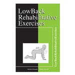Low Back Rehabilitative Exercises - 12 per packet