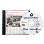 IAOM-US Clinical Evaluation Forms CD-ROM