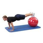 LE55R Gymnic Classic Plus 55cm Red Pushup