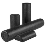OPTP Black AXIS™ Firm Foam Roller