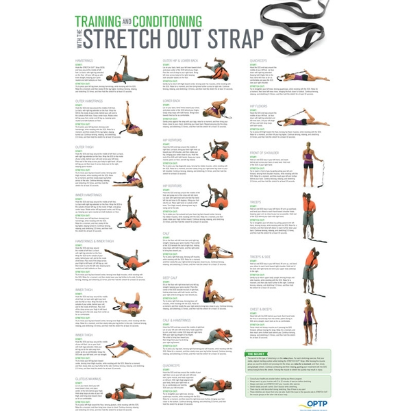Stretch Out Strap XL w/ Poster | Stretching Products | OPTP