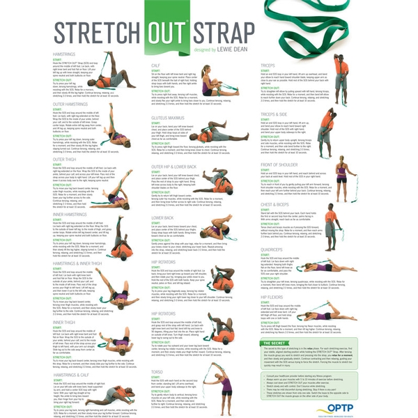 Stretch Out Strap W/ Poster
