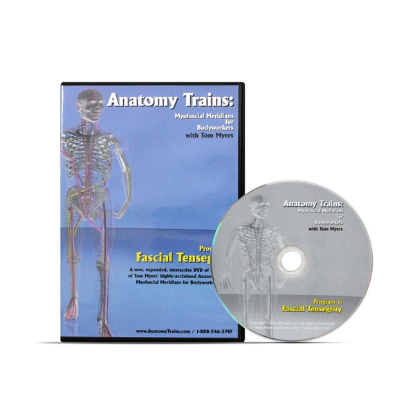 Anatomy Trains Fascial Tensegrity Dvd Thomas Myers Optp