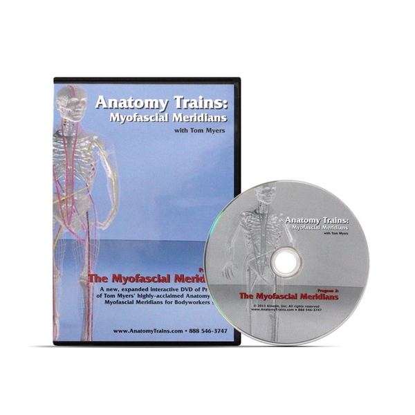 Anatomy Trains Myofascial Meridians Dvd Thomas Myers Optp