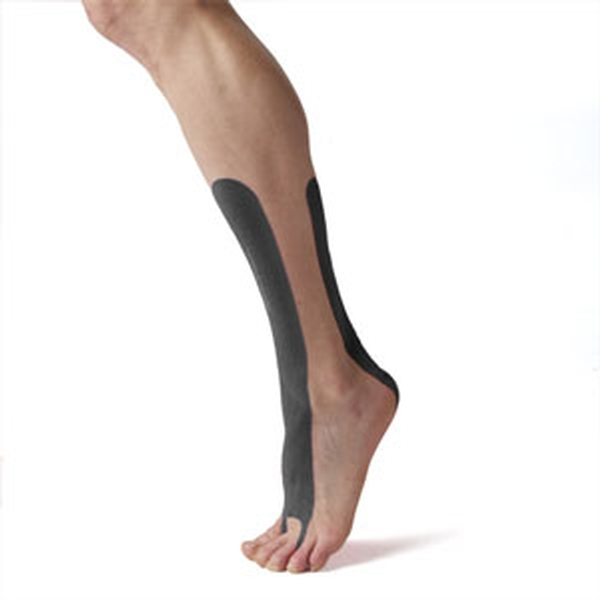 how to use kinesiology tape on ankle