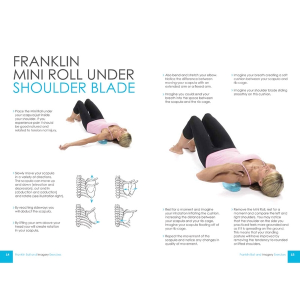 Franklin Method Ball and Imagery Exercises for Relaxed and Flexible Shoulders, Neck and Thorax (8491) Eric Franklin