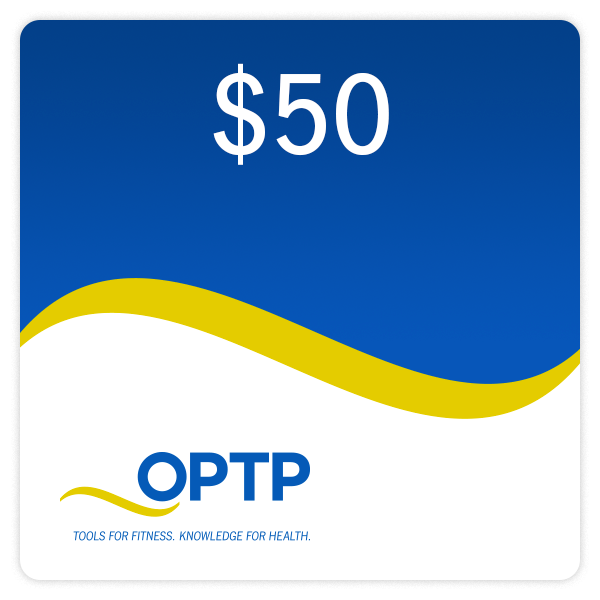 Optp gift certificates physical therapy products optp optp gift certificate gift certificate 100 gift certificate 50 negle Gallery