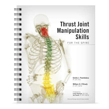 Thrust Joint Manipulation Skills for the Spine