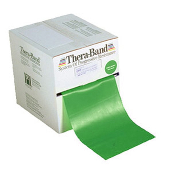 Exercise Bands Green: Thera-Band Resistance Band 5