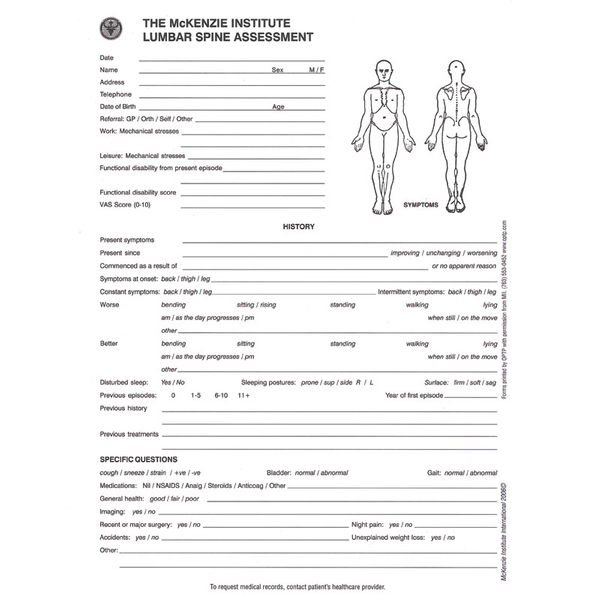Posture Assessment Form For Massage Therapist Related Keywords – Fitness Assessment Form