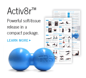 Activ8r body balls with posters, Powerful soft-tissue release in a compact package.