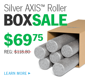 BOX SALE - Save on Six - Over 25% off when you buy 6 Silver AXIS Rollers